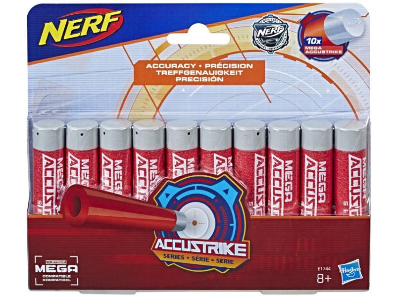 Игрушка Hasbro Nerf Стрелы Мега Аккустрайк 10 стрел E1744EU4