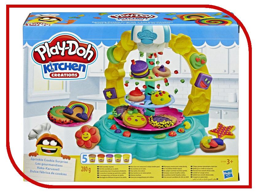 Купить Игрушка Hasbro Игровой набор Плей-до Карусель сладостей E5109EU4