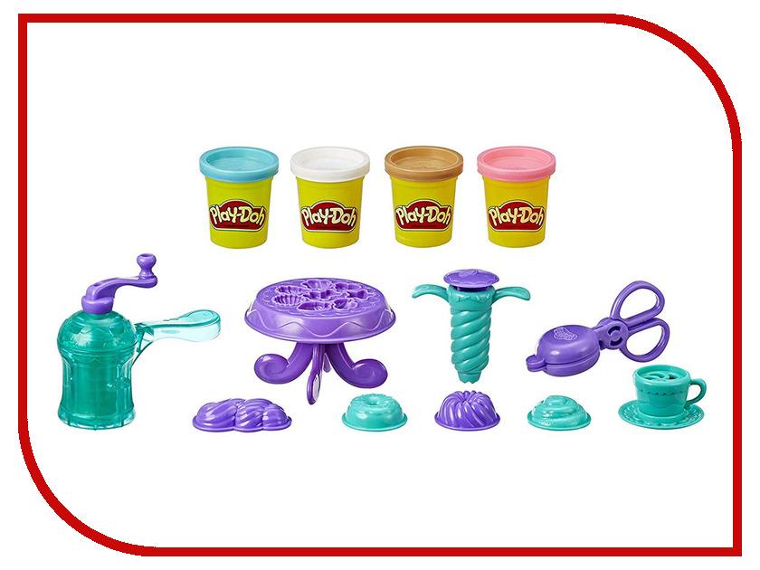 Игрушка Hasbro Игровой набор Плей-до Выпечка и пончики E3344EU4 hasbro hasbro пластилин плей до буквы и язык