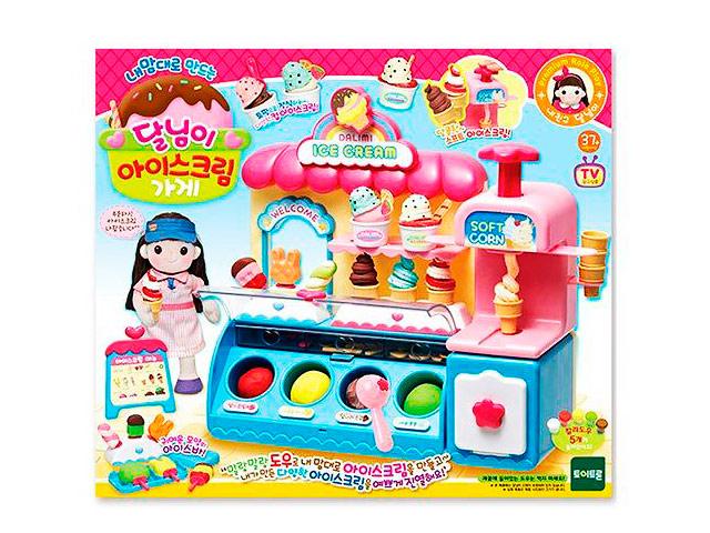 Игровой набор Dalimi Магазин мороженного DL32677