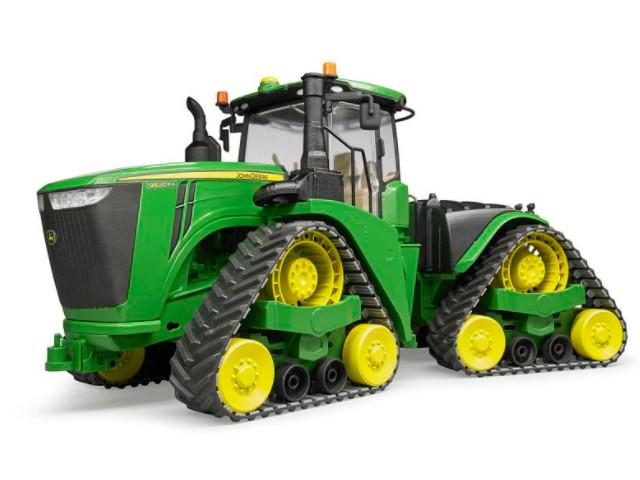 Игрушка Bruder John Deere 9620RX трактор гусеничный 04-055 цена 2017