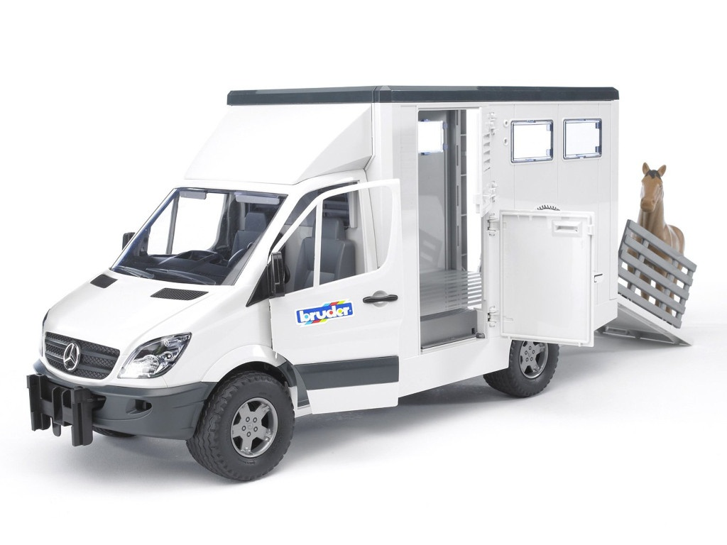 Игрушка Bruder с лошадью Mercedes-Benz Sprinter (02-533) 1:16 45.5 см