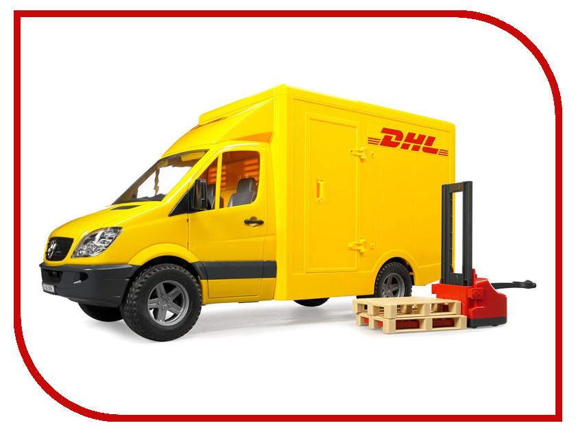 Игрушка Bruder Фургон DHL с погрузчиком Mercedes-Benz Sprinter (02-534) 1:16 45.5 см dhl 5pcs 100