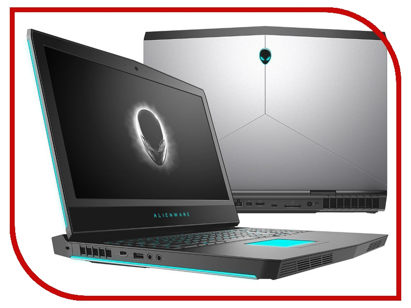Ноутбук Dell Alienware 17 R5 Silver A17-7080 (Intel Core i7-8750H 2.2 GHz/8192Mb/1000Gb+256Gb SSD/nVidia GeForce GTX 1060 6144Mb/Wi-Fi/Bluetooth/Cam/17.3/1920x1080/Windows 10 Home 64-bit) ноутбук dell alienware 17 r5 a17 7763 silver intel core i7 8750h 2 2 ghz 8192mb 1000gb 128gb ssd nvidia geforce gtx 1060 6144mb wi fi bluetooth cam 17 3 1920x1080 windows 10 64 bit