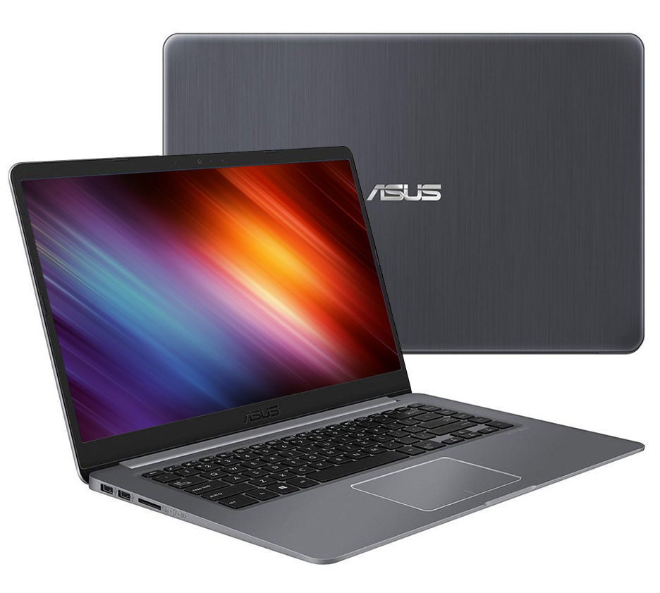 Ноутбук ASUS VivoBook K510UN-BQ502 Black 90NB0GS5-M09140 (Intel Core i5-8250U 1.6 GHz/8192Mb/1000Gb+128Gb SSD/nVidia GeForce MX150 2048Mb/Wi-Fi/Bluetooth/Cam/15.6/1920x1080/Endless OS)