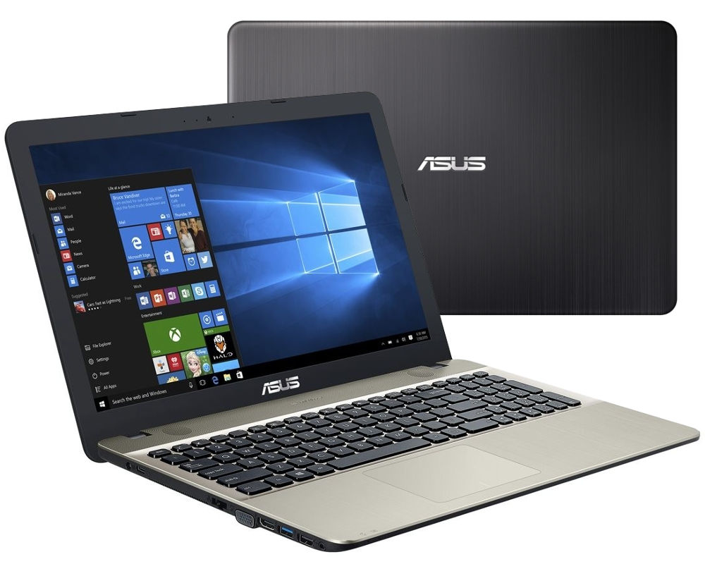 Ноутбук ASUS VivoBook X541UV-DM1607T Black 90NB0CG1-M24120 (Intel Core i3-6006U 2.0 GHz/8192Mb/1000Gb/nVidia GeForce GT 920MX 2048Mb/Wi-Fi/Bluetooth/Cam/15.6/1920x1080/Windows 10 Home 64-bit)