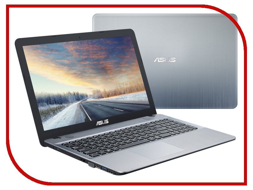 Ноутбук ASUS VivoBook X541UV-DM1611 Silver 90NB0CG3-M24180 (Intel Core i3-6006U 2.0 GHz/8192Mb/256Gb SSD/nVidia GeForce GT 920MX 2048Mb/Wi-Fi/Bluetooth/Cam/15.6/1920x1080/Endless OS) x541uv gq1471t