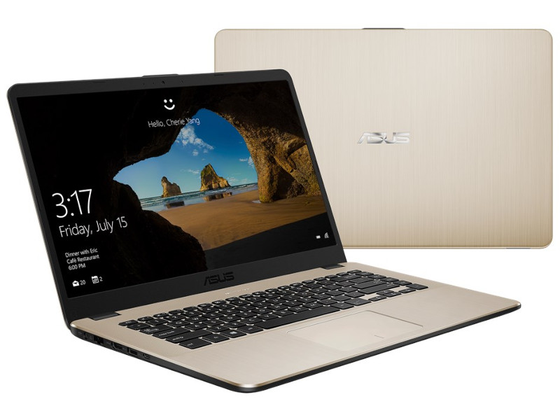 Ноутбук ASUS VivoBook X505ZA-BQ071T Gold 90NB0I18-M06220 (AMD Ryzen 5 2500U 2.0 GHz/8192Mb/1000Gb/AMD Radeon Vega 8/Wi-Fi/Bluetooth/Cam/15.6/1920x1080/Windows 10 Home 64-bit)