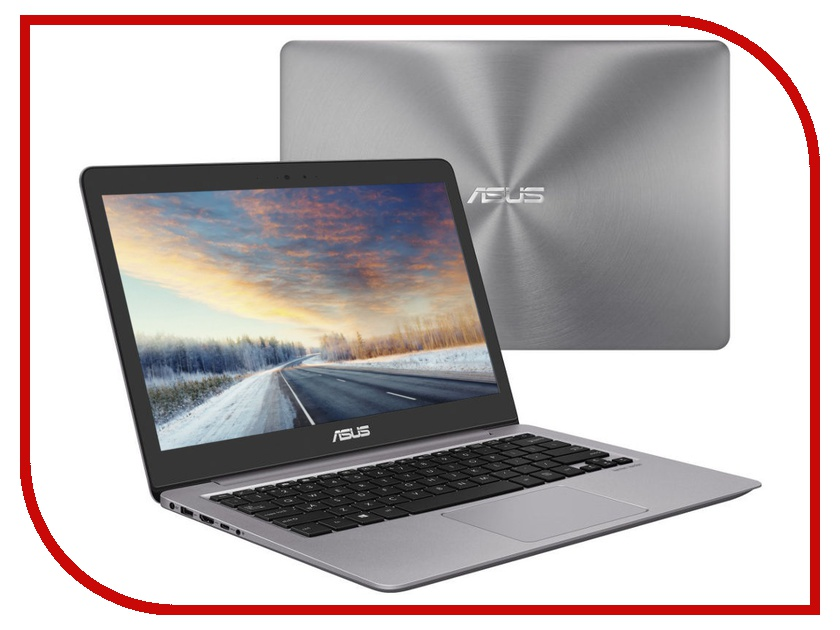 Ноутбук ASUS Zenbook UX310UA-FB1103 Grey 90NB0CJ1-M18570 (Intel Core i3-7100U 2.4 GHz/8192Mb/256Gb SSD/Intel HD Graphics/Wi-Fi/Bluetooth/Cam/13.3/3200x1800/Endless OS) ноутбук asus zenbook ux310ua fc593r 90nb0cj1 m15540