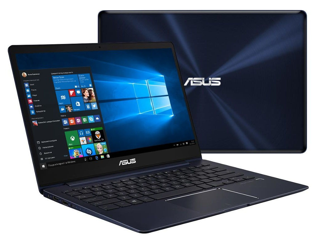 Ноутбук ASUS Zenbook UX331UN-C4035T Blue 90NB0GY1-M04350 (Intel Core i5-8250U 1.6 GHz/8192Mb/256Gb SSD/nVidia GeForce MX150 2048Mb/Wi-Fi/Bluetooth/Cam/13.3/1920x1080/Windows 10 Home 64-bit)