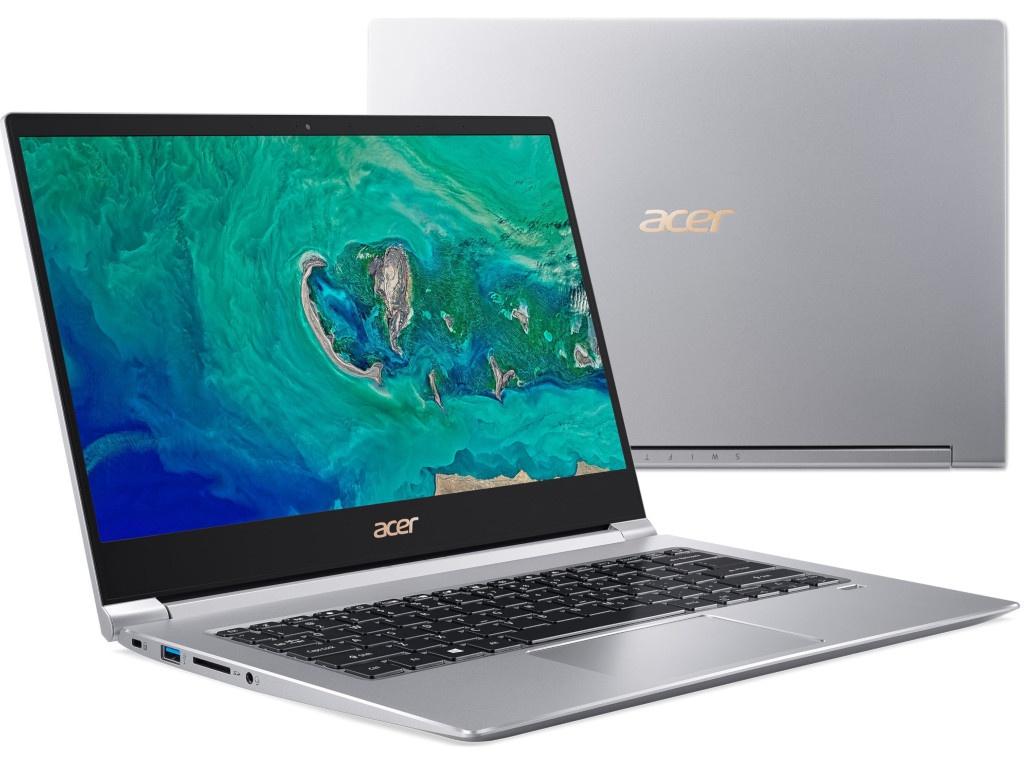 Ноутбук Acer Swift 3 SF314-55G-53B0 Silver NX.H3UER.001 (Intel Core i5-8265U 1.6 GHz/8192Mb/256Gb SSD/nVidia GeForce MX150 2048Mb/Wi-Fi/Bluetooth/Cam/14.0/1920x1080/Linux) цена