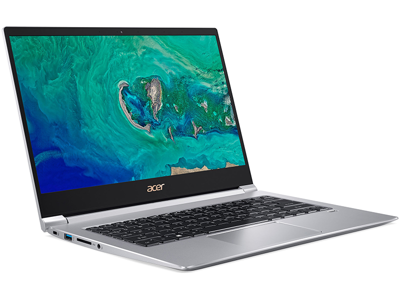 лучшая цена Ноутбук Acer Swift 3 SF314-55G-519T Silver NX.H3UER.003 (Intel Core i5-8265U 1.6 GHz/8192Mb/256Gb SSD/nVidia GeForce MX150 2048Mb/Wi-Fi/Bluetooth/Cam/14.0/1920x1080/Windows 10)