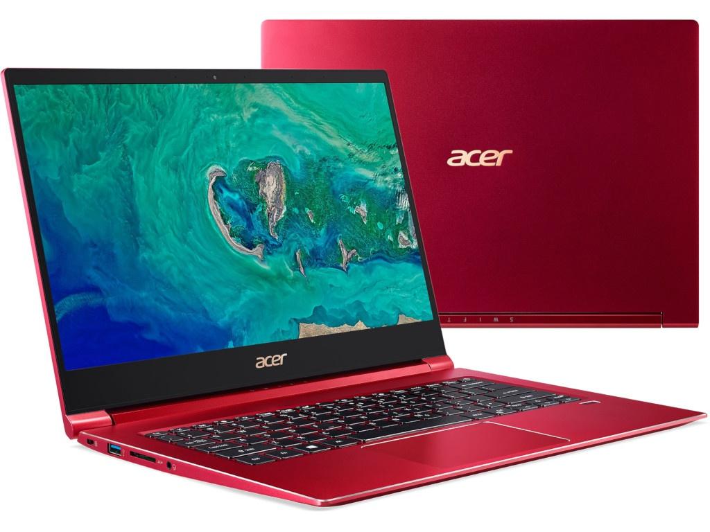 Ноутбук Acer Swift 3 SF314-55-559U Red NX.H5WER.005 (Intel Core i5-8265U 1.6 GHz/8192Mb/256Gb SSD/Intel UHD Graphics 620/Wi-Fi/Bluetooth/Cam/14.0/1920x1080/Windows 10) цена