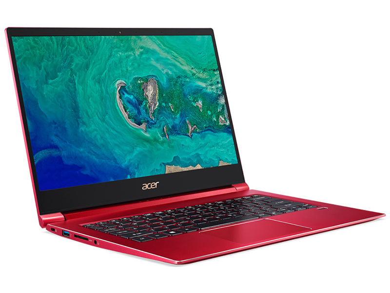 Ноутбук Acer Swift 3 SF314-55-309A Red NX.H5WER.001 (Intel Core i3-8145U 2.1 GHz/8192Mb/256Gb SSD/Intel UHD Graphics 620/Wi-Fi/Bluetooth/Cam/14.0/1920x1080/Linux)