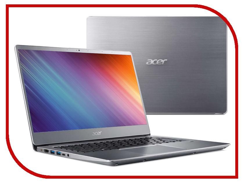 Ноутбук Acer Swift 3 SF314-54G-81P9 Silver NX.GY0ER.007 (Intel Core i7-8550U 1.8 GHz/8192Mb/256Gb SSD/nVidia GeForce MX150 2048Mb/Wi-Fi/Bluetooth/Cam/14.0/1920x1080/Linux) цена и фото