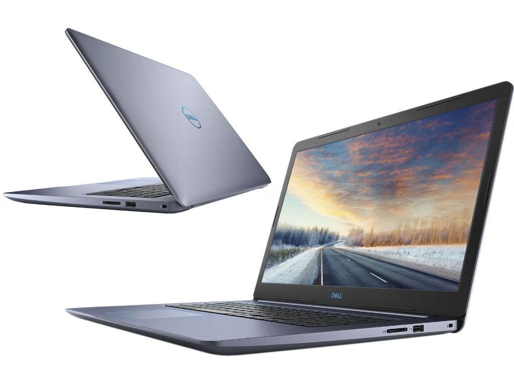 Ноутбук Dell G3 3779 Blue G317-7626 (Intel Core i7-8750H 2.2 GHz/8192Mb/1000Gb+128Gb SSD/nVidia GeForce GTX 1050Ti 4096Mb/Wi-Fi/Bluetooth/Cam/17.3/1920x1080/Linux)