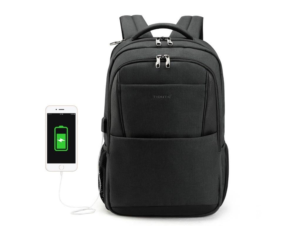 цена Рюкзак Tigernu 15.6-inch T-B3515 Dark-Grey онлайн в 2017 году