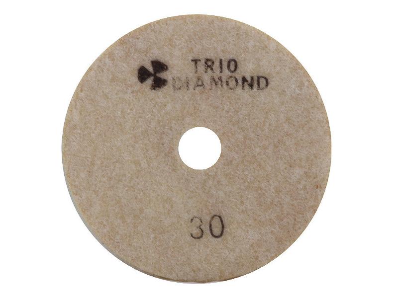 Шлифовальный круг Trio Diamond Черепашка 100mm №30 340030