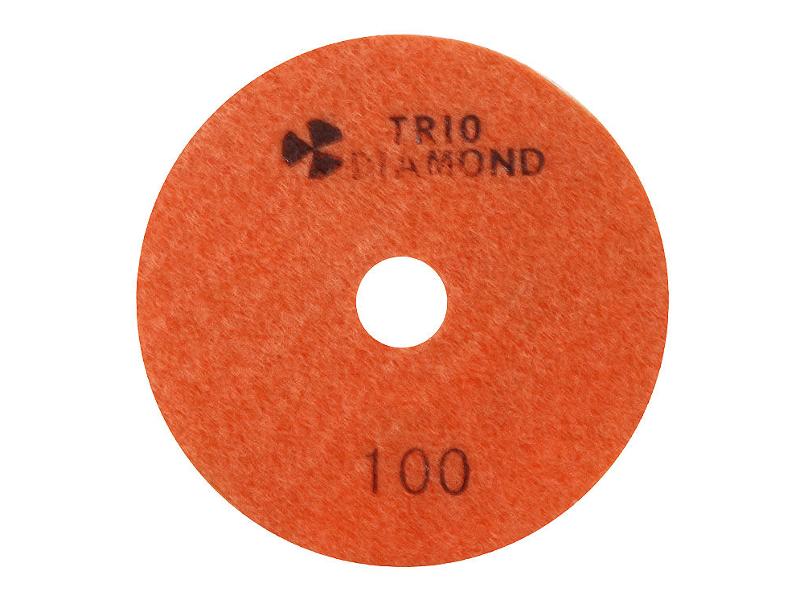 Шлифовальный круг Trio Diamond Черепашка 100mm №100 340100