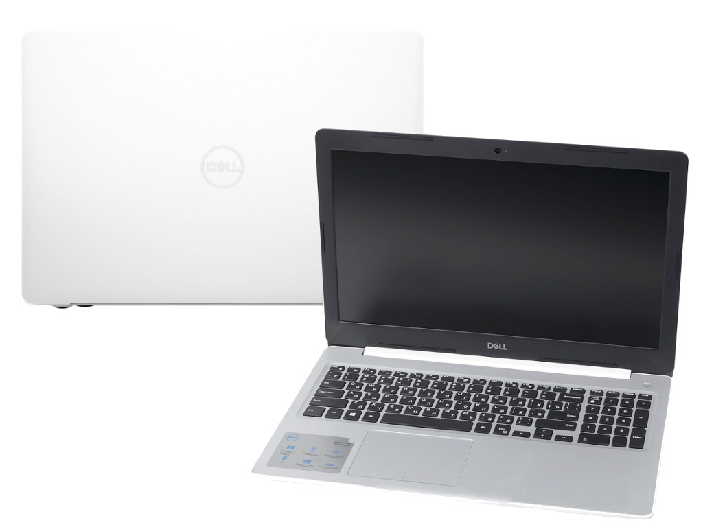 Ноутбук Dell Inspiron 5570 White 5570-6304 (Intel Core i5-8250U 1.6 GHz/8192Mb/1000Gb/DVD-RW/AMD Radeon 530 2048Mb/Wi-Fi/Bluetooth/Cam/15.6/1920x1080/Linux)