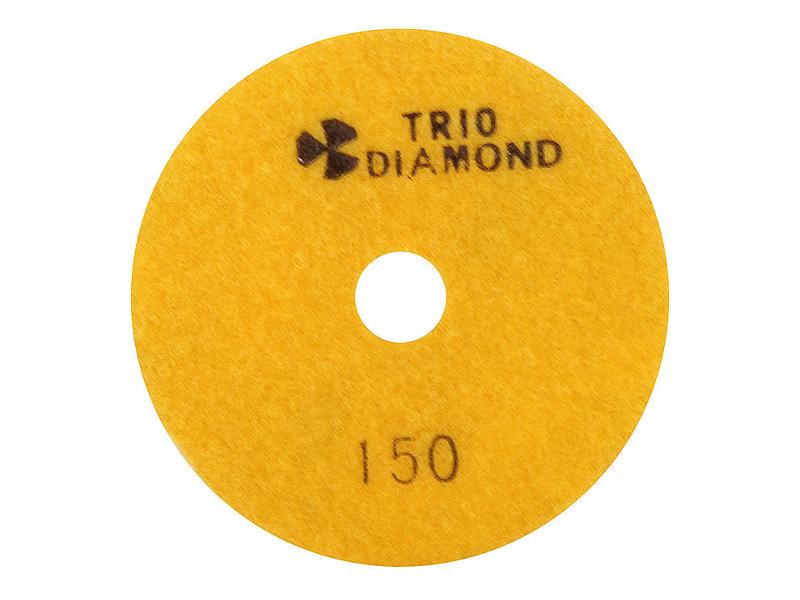 Шлифовальный круг Trio Diamond Черепашка 100mm №150 340150
