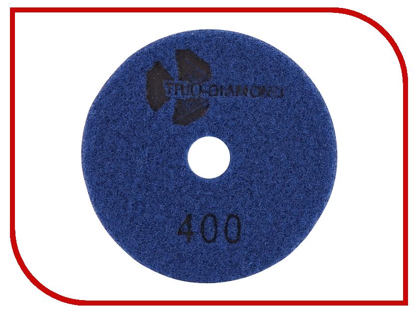 Шлифовальный круг Trio Diamond Черепашка 100mm №400 340400