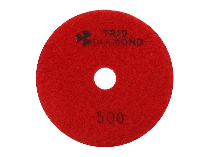 Шлифовальный круг Trio Diamond Черепашка 100mm №500 340500