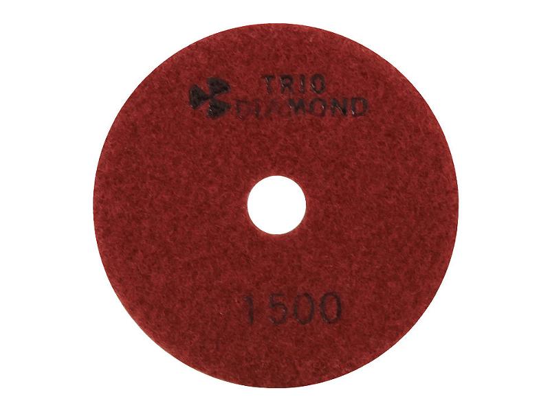 Шлифовальный круг Trio Diamond Черепашка 100mm №1500 341500