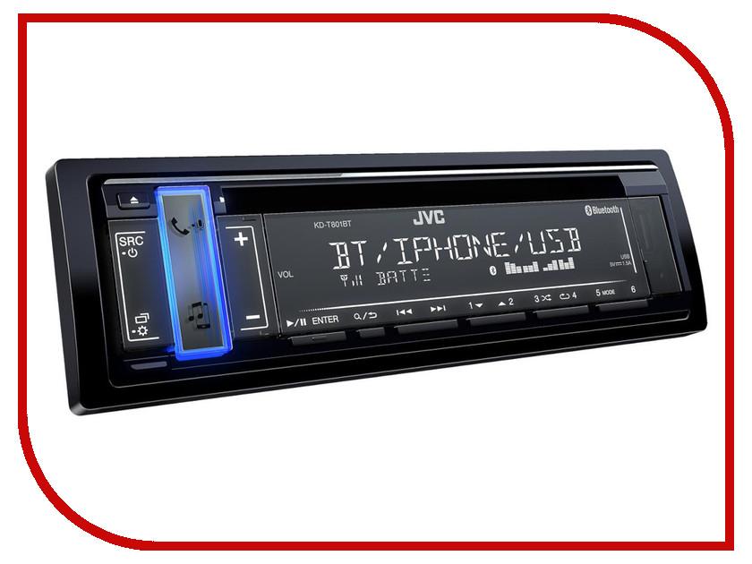 Автомагнитола JVC KD-T801BT автомагнитола jvc kd r771bte