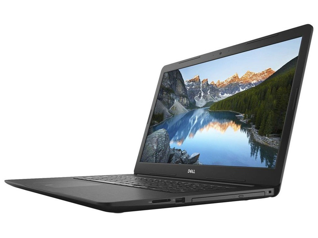 Ноутбук Dell Inspiron 5770 Black 5770-9669 (Intel Core i5-8250U 1.6 GHz/8192Mb/1000Gb+128Gb SSD/DVD-RW/AMD Radeon 530 4096Mb/Wi-Fi/Bluetooth/Cam/17.3/1920x1080/Linux)