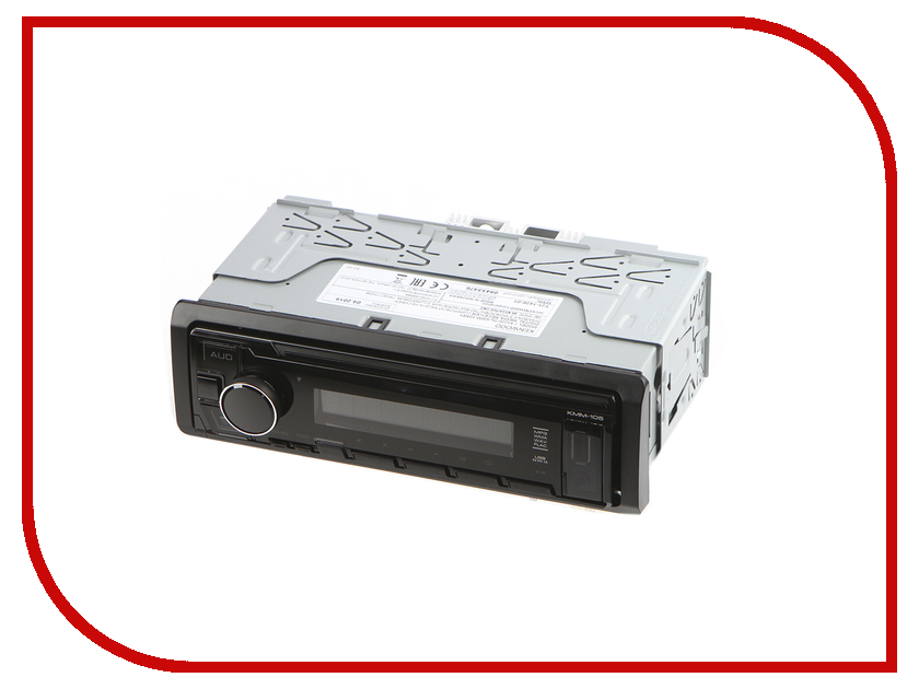Автомагнитола Kenwood Flash KMM-105RY автомагнитола kenwood kmm bt302
