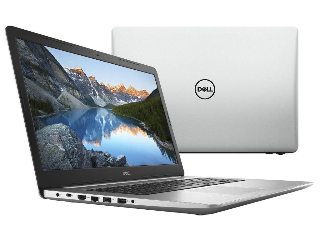 Ноутбук Dell Inspiron 5770 Silver 5770-5901 (Intel Core i7-8550U 1.8 GHz/16384Mb/2000Gb+256Gb SSD/DVD-RW/AMD Radeon 530 4096Mb/Wi-Fi/Bluetooth/Cam/17.3/1920x1080/Windows 10 Home 64-bit) ноутбук dell inspiron 5770 core i7 8550u 16gb 2tb 256gb ssd amd 530 4gb 17 3 fullhd dvd linux black