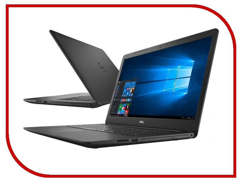 Ноутбук Dell Inspiron 5770 Black 5770-2851 (Intel Core i7-8550U 1.8 GHz/8192Mb/1000Gb+128Gb SSD/DVD-RW/AMD Radeon 530 4096Mb/Wi-Fi/Bluetooth/Cam/17.3/1920x1080/Windows 10 Home 64-bit) ноутбук hp 15 bw045ur 2bt64ea amd a6 9220 2 5 ghz 4096mb 1000gb dvd rw amd radeon 520 2048mb wi fi bluetooth cam 15 6 1960x1080 windows 10 64 bit