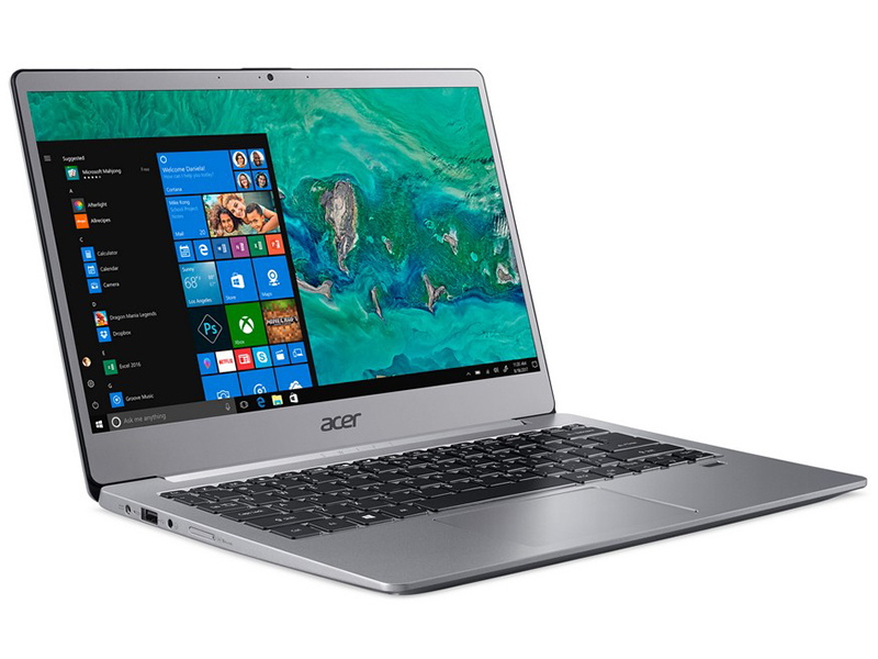 Ноутбук Acer Swift 3 SF313-51-58DV Silver NX.H3YER.001 (Intel Core i5-8250U 1.6 GHz/8192Mb/256Gb SSD/ntel UHD Graphics 620/Wi-Fi/Bluetooth/Cam/13.3/1920x1080/Windows 10 Home) цена