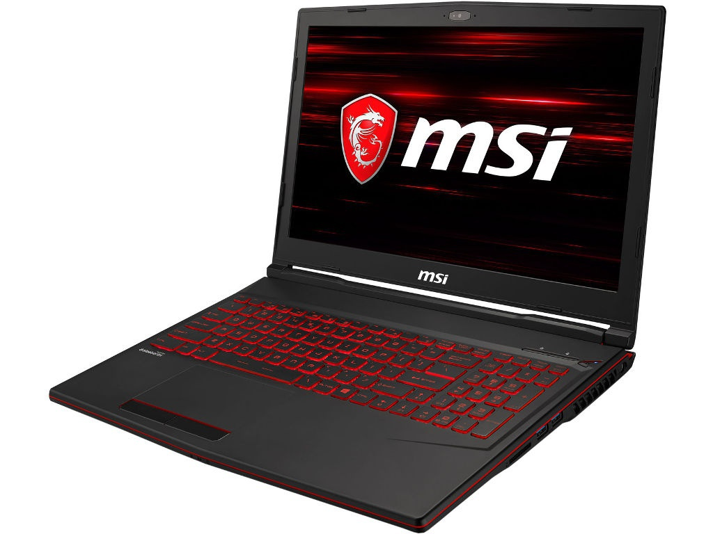 Ноутбук MSI GL63 8RC-683XRU 9S7-16P612-683 (Intel Core i5-8300H 2.3 GHz/8192Mb/1000Gb + 128Gb SSD/nVidia GeForce GTX 1050 2048Mb/Wi-Fi/Bluetooth/Cam/15.6/1920x1080/DOS) ноутбук msi px60 6qd 15 6 1920x1080 i5 6300hq 2 3ghz 1000gb 8gb ddr4 geforce gtx 950m 2048mb dvd нет bluetooth wi fi windows 10 home