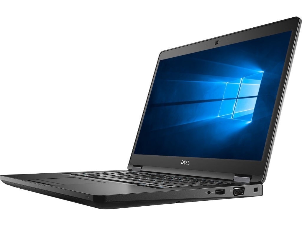 Ноутбук Dell Latitude 5490 Black 5490-6788 (Intel Core i5-7300U 2.6 GHz/8192Mb/256Gb SSD/Intel HD Graphics/Wi-Fi/Bluetooth/Cam/14.0/1920x1080/Windows 10 Pro 64-bit)