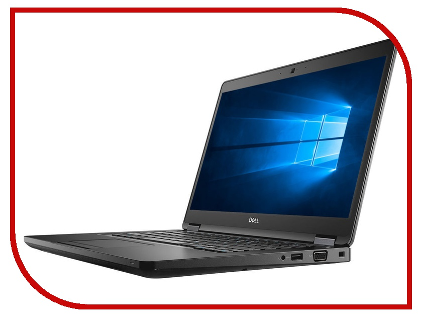 Ноутбук Dell Latitude 5490 Black 5490-2721 (Intel Core i7-8650U 1.9 GHz/16384Mb/512Gb SSD/Intel HD Graphics/Wi-Fi/Bluetooth/Cam/14.0/1920x1080/Windows 10 Pro 64-bit) цена