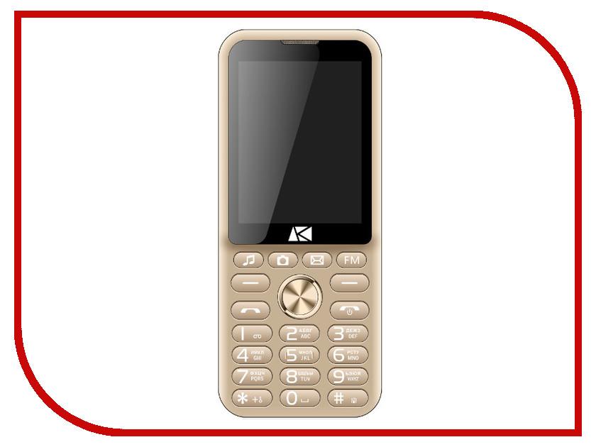 Сотовый телефон Ark Power F3 Gold цена и фото