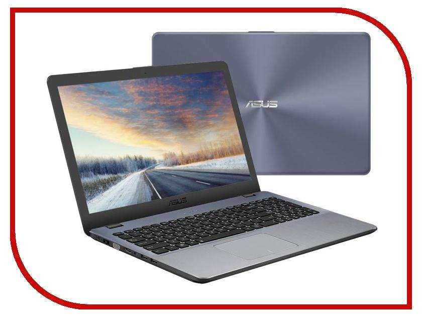 Ноутбук ASUS X542UF-DM021 90NB0IJ2-M08810 Grey (Intel Core i5-8250U 1.6Ghz/4096Mb/1000Gb/nVidia GeForce MX1302048Mb/Wi-Fi/Bluetooth/Cam/15.6/1920x1080 Full HD/Linux)