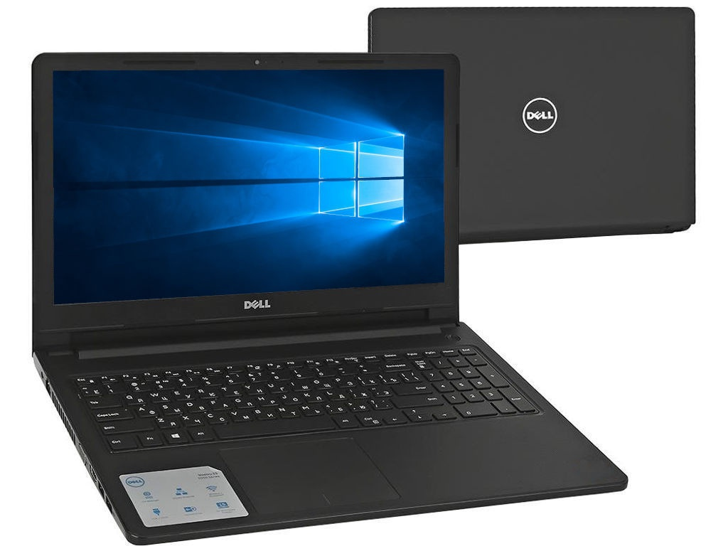 Ноутбук Dell Vostro 3578 Black 3578-4025 (Intel Core i5-8250U 1.6 GHz/4096Mb/1000Gb/DVD-RW/AMD Radeon 520 2048Mb/Wi-Fi/Bluetooth/Cam/15.6/1920x1080/Windows 10 Home 64-bit)
