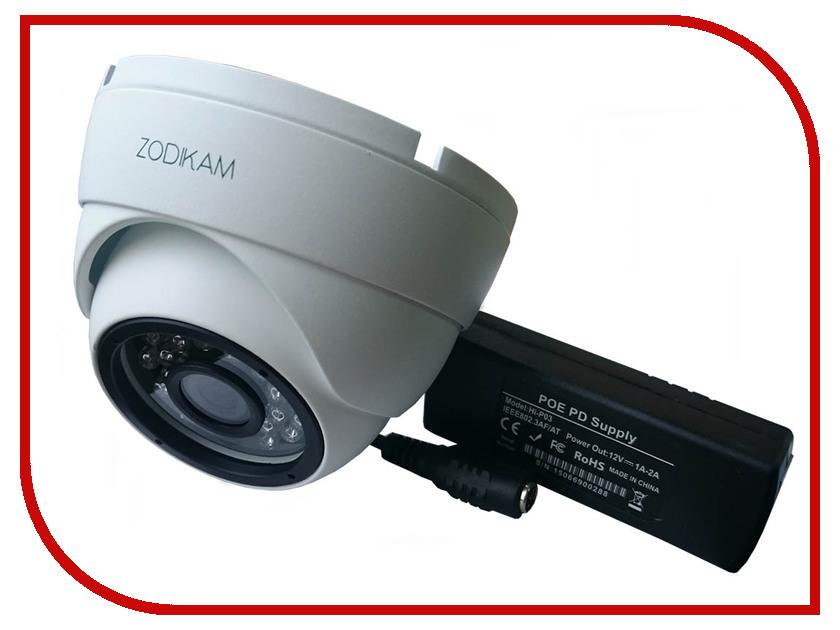 IP камера Zodikam 3242-P 3.6mm видеорегистратор zodikam dvr 10