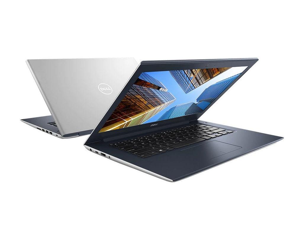 Ноутбук Dell Vostro 5471 Silver 5471-7444 (Intel Core i5-8250U 1.6 GHz/8192Mb/256Gb SSD/AMD Radeon 530 2048Mb/Wi-Fi/Bluetooth/Cam/14.0/1920x1080/Linux)
