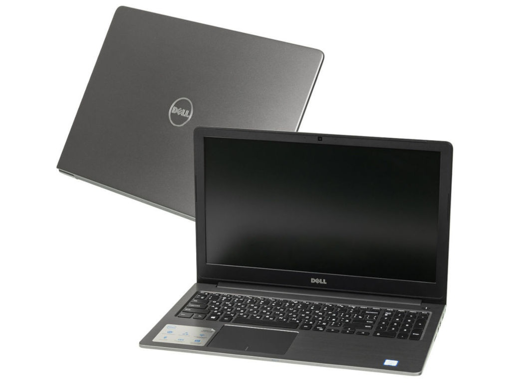 купить Ноутбук Dell Vostro 5568 Grey 5568-9843 (Intel Core i5-7200U 2.5 GHz/8192Mb/256Gb SSD/Intel HD Graphics/Wi-Fi/Bluetooth/Cam/15.6/1920x1080/Windows 10 Home 64-bit) по цене 48828 рублей