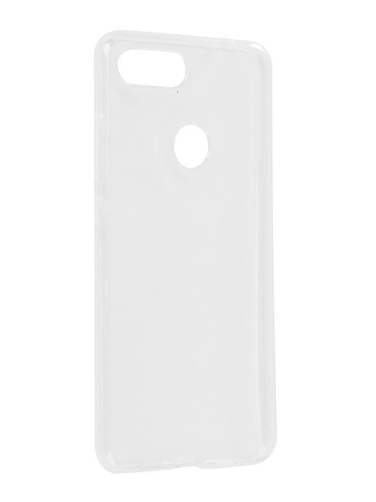 Аксессуар Чехол Svekla для Xiaomi Mi8 Lite Silicone Transparent SV-XIMI8LITE-WH