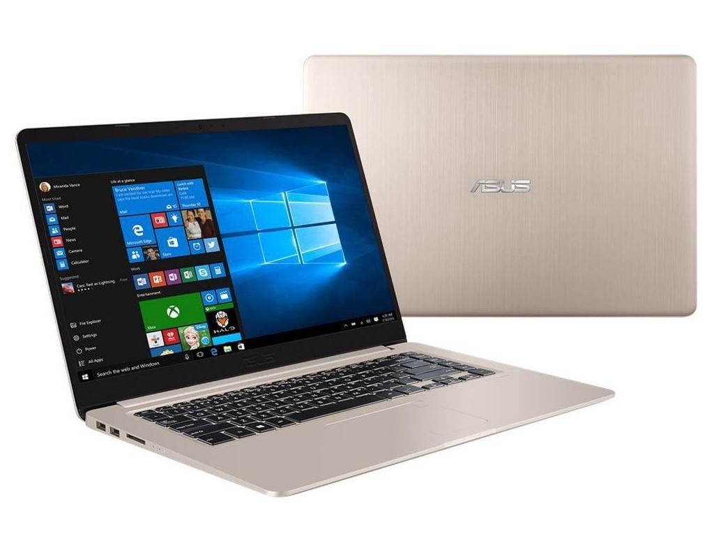 Ноутбук ASUS S510UN-BQ301T 90NB0GS1-M08970 Gold Metal (Intel Core i5 8250U 1.6Ghz/8192Mb/256Gb SSD/nVidia GeForce MX150 2048Mb/Wi-Fi/Bluetooth/Cam/15.6/1920x1080/Windows 10) ноутбук asus s510un bq193t 90nb0gs5 m05100