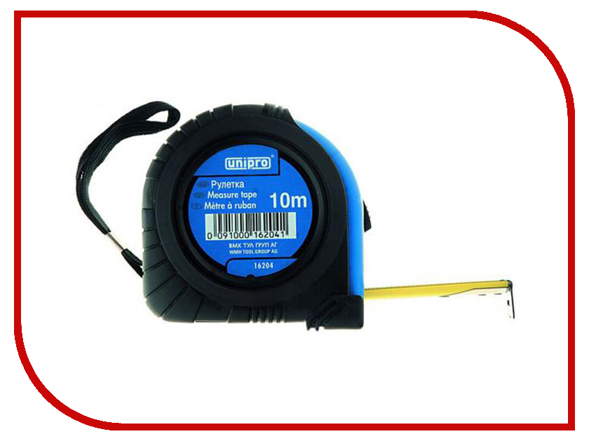 Рулетка Unipro 10m x 25mm 16204U unipro 16092u