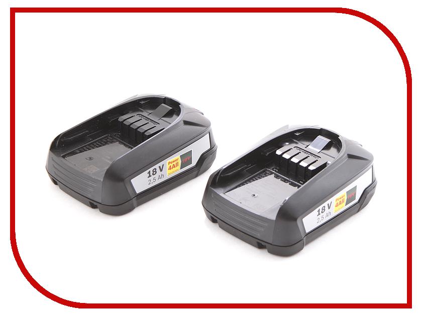 Набор Bosch 2хPBA 18В 2.5Ah + AL 1830 1600A011LD