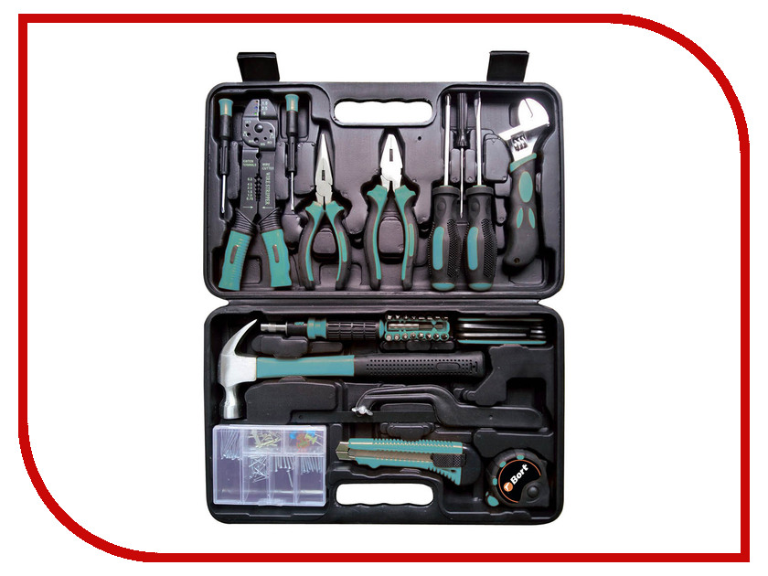 Набор инструмента Bort BTK-160 hand tool set bort btk 24
