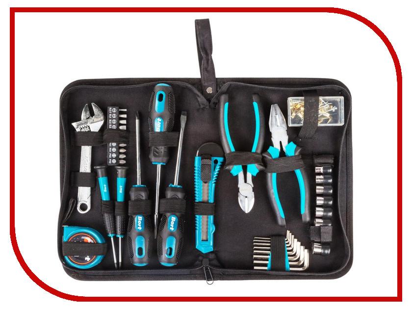 Набор инструмента Bort BTK-37 hand tool set bort btk 24