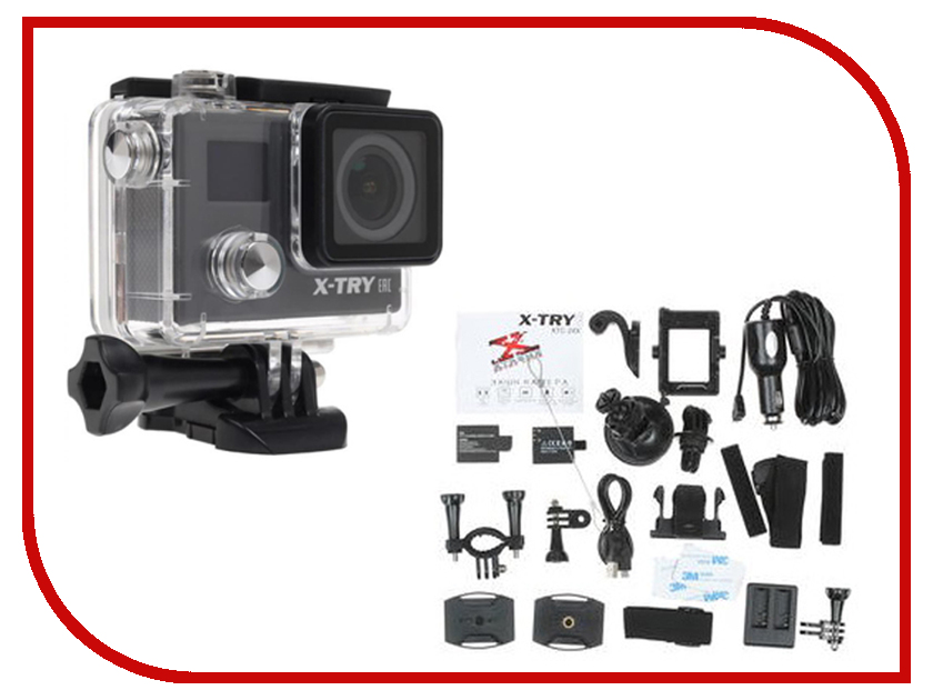 Экшн-камера X-TRY XTC246 цены